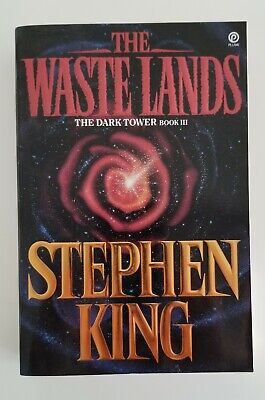 The Dark Tower 3: The Waste Lands by Stephen King, First Plume Edition, SC
