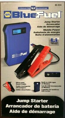NAPA BLUE FUEL 85-924 Lithium Ion Technology Jump Starter 8000mAh