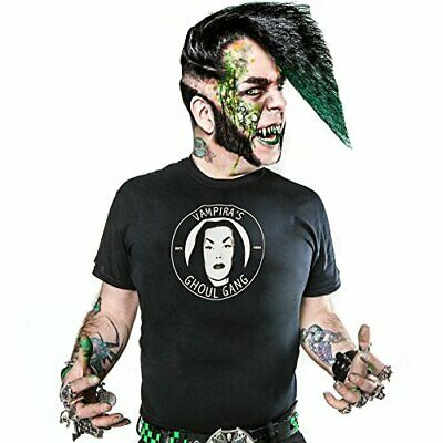 Vampira Ghoul Gang Adult Ss Tee (M) (Us Import) Acc New