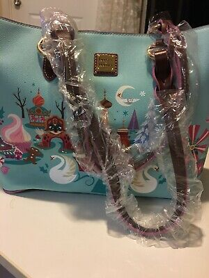 Disney Parks Dooney & Bourke The Nutcracker and the Four Realms Large Tote Purse