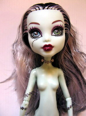 Mattel MONSTER HIGH DOLL - FRANKIE STEIN - Nude (FS01)
