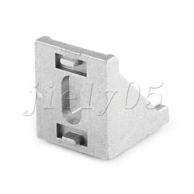 10Pcs Grey 3030 Brace Corner Joint Right Angle Bracket Fastener for Furniture