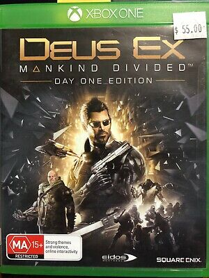 Deus Ex Mankind Divided - Xbox One Game  - Great condition