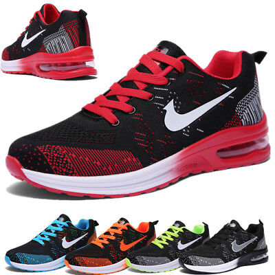 UK5-10  Trainers Mens Sports Running Shoes Air Bottom Casual Travel Shoes