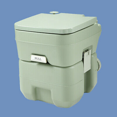 5 Gallon 20L Camping Toilet Flush Travel Potty Commode Motorhome Boat Toilet