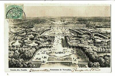 CPA-Carte postale -  FRANCE-Versailles Panorama-1912 VM4084