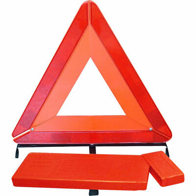 Large Warning Emergency Breakdown Triangle Reflective Road Safety Hazard Car Red