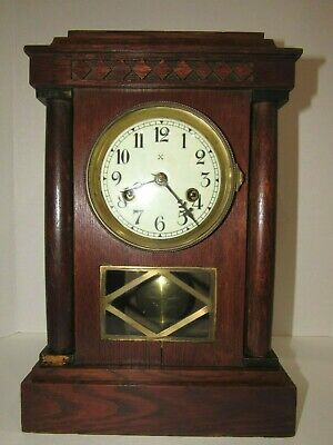 Antique Junghans Bracket Clock made in Germany, 8-Day, Time/Bell Strike