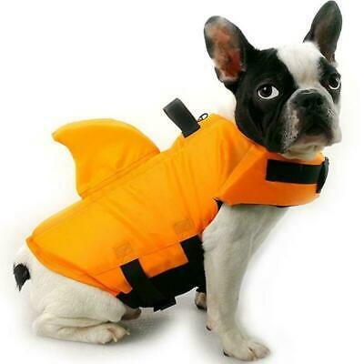 Shark Dog Life Jacket Safety Clothes Pet Life Vest Summer Dog Swimming Clothing