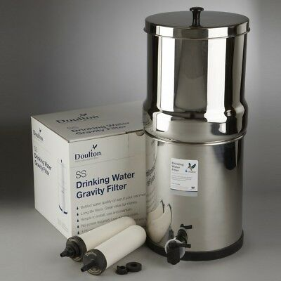 Doulton Stainless Steel SS2 Gravity Filter System