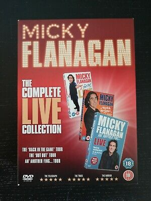 Micky Flanagan = The Complete Live Collection 3 Dvd Boxset
