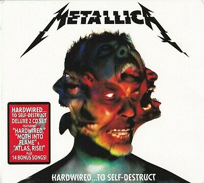 METALLICA - Hardwired...to self destruct (Deluxe 2CD set / Brand new & sealed)