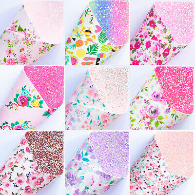 Double Sided Glitter Fabric Bows & Crafts - Premium Quality Double Sided Fabric