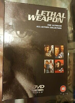 Lethal Weapon The Ultimate Collection DVD