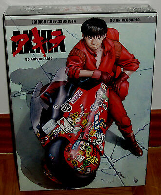 Akira Edition Collector 30 Aniversario Blu-Ray + 2 DVD+CD B/S + 2 Libro Neuf R2
