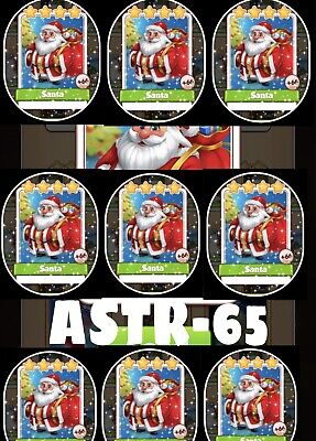 Coin Master Cards Pack Of 10 Santas Fast Delivery