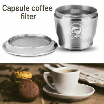 Pro Stainless Steel Refillable Reusable Coffee Capsule Pod For Nespresso Machine