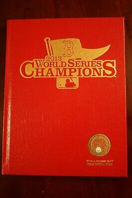 2013 Boston Red Sox World Series Program With Dirt Limited Collectors Edition