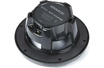 "NEW Kenwood KFC-1653MRB 6.5"" 2 Way 150W Marine Speaker System Black"
