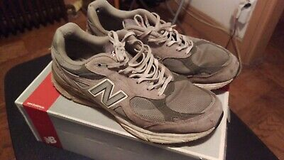 timeless design 2ee8e 27a7e NEW BALANCE MEN'S Running M990GL3 990 Grey Made In USA Sizes ...