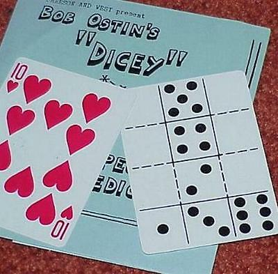 Dicey -- vintage Emerson and West issue of Bob Ostin routine -- LOOK!       TMGS