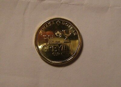 100Th Anniversary Of The Grey Cup 2012 Loonie Coin From Bank Roll (L10)