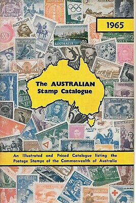 The Australian stamp catalogue 1965 PB sixth edition Commonwealth guide book