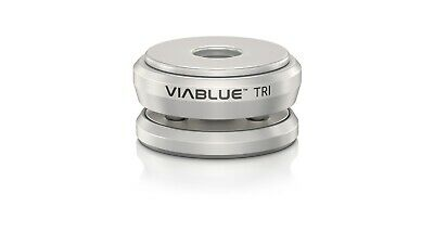 4Stk Viablue TRI Spikes Absorber Silber Silver High End
