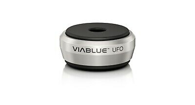 4Stk Viablue UFO Absorber Silber Silver High End