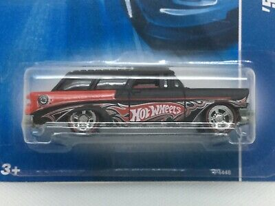 Hot Wheels 2008 Collector Edition '56 Chevy Nomad.  Redline real riders.