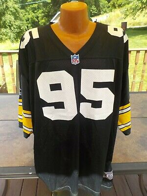 newest bac3f 66e2b VINTAGE STARTER ROD WOODSON Steelers Jersey Large W/Sewn NFL ...