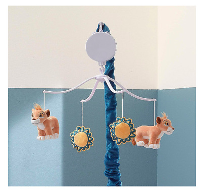 Lambs & Ivy Lion King Adventure Musical Baby Crib Mobile