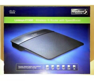 CISCO LINKSYS E1500 300 Mbps 4-Port 10/100 Wireless N Router