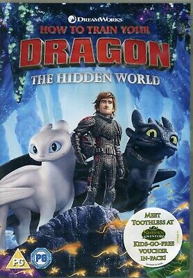 How to Train Your Dragon The Hidden World Dreamworks New Sealed DVD