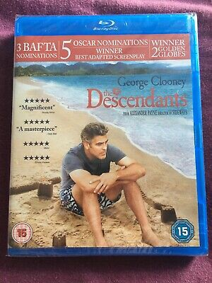 The Descendants (Blu-ray, 2012) George Clooney New & Sealed