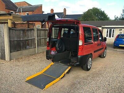 Fiat Doblo 1.4 8v Active 5dr, Ex Motability Wheel chair Adopted WAV, LOW MILEAGE