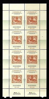 Canada No 1900 , Canada Post 150 Years Pane Of 8  , Mint Nh