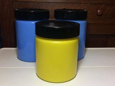 Vintage Anchor Hocking Glass Canisters