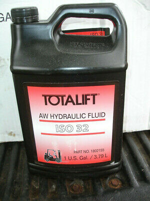 Totalift ISO 32 AW Clark Fork lift Hydraulic Oil Part Number 1802155. 4 x 1g NEW