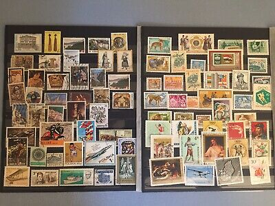 Bulk Lot Stamps. Mixed Countries Decades From Personal Collection. Over 900+