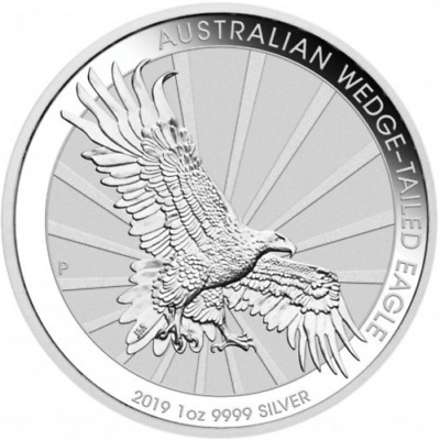 once argent oz BU 1$ AUSTRALIE WEDGE-TAILED EAGLE 2019 silver ELIZABETH P1