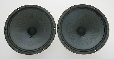 "Vintage Matched Pair Fisher Woofer Speakers : 12""/16 Ohm/Japan"