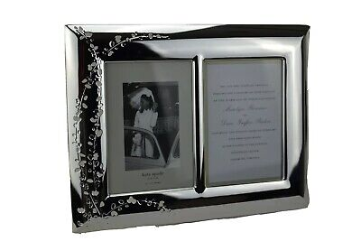 Kate Spade NY by LENOX GARDNER STREET Double 5x7 Invitation Picture Frame