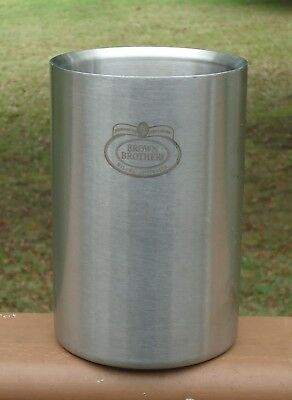 Lovely Double Insulated Stainless Steel Wine Cooler *Brown Brothers