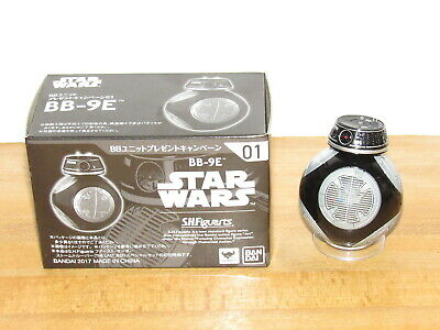 Bandai S.H.Figuarts Star Wars The Last Jedi BB-9E Droid #01 Complete w/ Box DMG