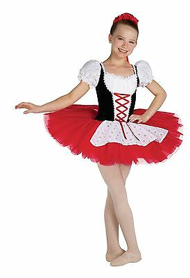 b4ba03286 Algy Costumes Grand Mazurka Dance Ballet Tutu Outfit Costume sz CM Child M  7 8
