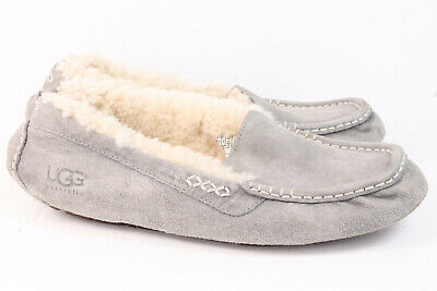 59a7cf403b9 WOMEN'S SHOES UGG Ansley Moccasin Slippers 3312 Black 5 6 7 8 9 10 ...