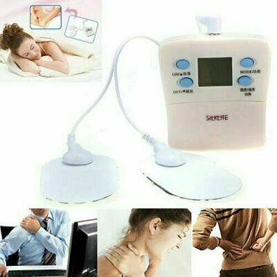 50A Tens Unit Tens Full Body Massager Digital Therapy Acupunctures Pads Machine