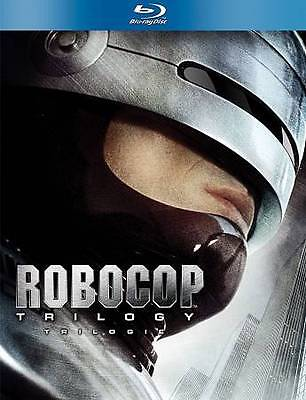 Robocop Trilogy Collection 1,2,3 (Blu-ray 3-Disc Box Set Canadian) Bilingual NEW