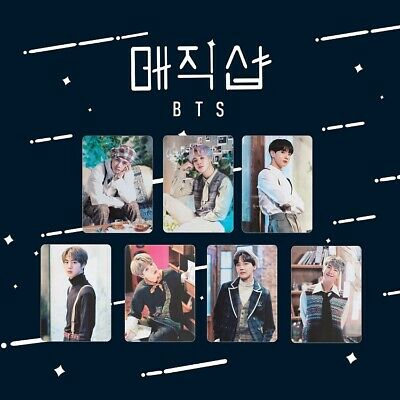 7pcs BTS 2019 5th Muster Collective Postcard HD Photocard Polaroid Photo Cards